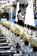 Bella Bloom Maui- Long White table