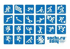 Pictogramas... Olimpíadas de invierno 2014