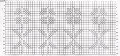 graficos de croche para cortina 6
