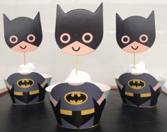 Free Shipping Cute Batman cupcake wrappers toppers picks decoration for boys kids birthday party favors supplies comic superhero-in Event & Party Supplies from Home & Garden on Aliexpress.com | Alibaba Group