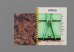 Enea's brand identity and art direction on Behance