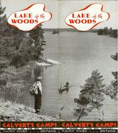 1930s Lake of the Woods brochure
