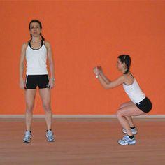 Squat Fitness in casa: gli esercizi per gambe e glutei - Rimettersi in forma | Donna Moderna