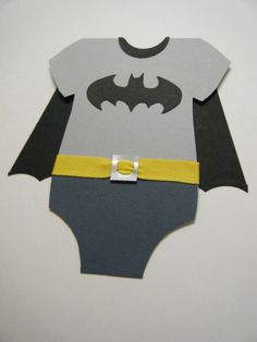 Batman! by Devera Mitts, Special request baby batman card :)
