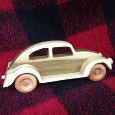 Volkswagen clásico VW Escarabajo Bug diseño por PuzzlesnToysnWood