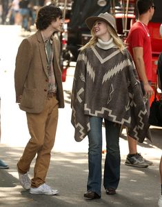 Timothée Chalamet and Elle Fanning on the Set of Woody Allen's Next Movie New York Movie, Dakota And Elle Fanning, Career Choices, Woody Allen, Celebrity Couples, Beautiful Boys, Cringe, Cute Boys, Everyday Fashion