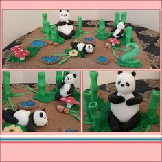 Panda birthday cake ♥