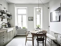 Authentic Simplistic Design That Works home interior design 12 Kitchen Interior, Home Interior Design, Interior Modern, Swedish House, Rustic Bathrooms, Scandinavian Home, Bradford, Interior Inspiration, Home Kitchens