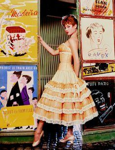 Cornel Lucas shoots Brigitte Bardot, 1955