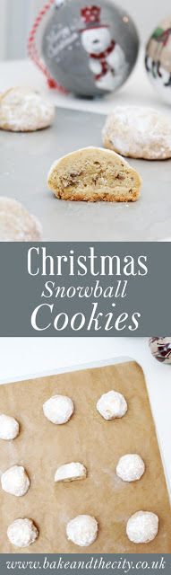 Snowball cookies Pinterest