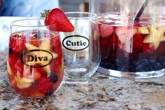 Red, White and Blue Sangria Recipe | Recipe Girl
