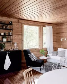 Cabin Design, House Design, Cottage Interiors, Home Ownership, Cottage Living, Living Spaces, Sweet Home, Bedroom Decor, Dining Table