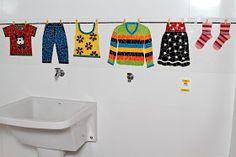 Balellas: Mosaico lavanderia