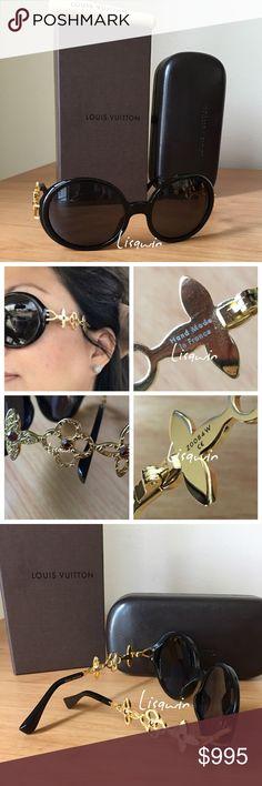 💯% Authentic Louis Vuitton Sunglasses 💗 Pristine condition, comes with box, case & shopping bag. Louis Vuitton Accessories Sunglasses