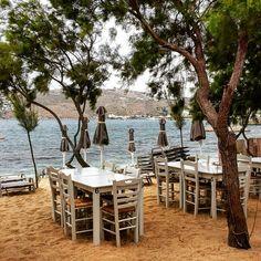 Nikolas tavern Agia Anna Mykonos