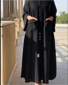 Abaya Designs Latest, Abaya Designs Dubai, Moslem Fashion, Arab Fashion, Mode Abaya, Mode Hijab, Hijab Fashion Inspiration, Mode Inspiration, Muslimah Wedding Dress