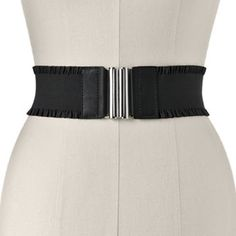 Apt. 9 Ruffled Stretch Belt -