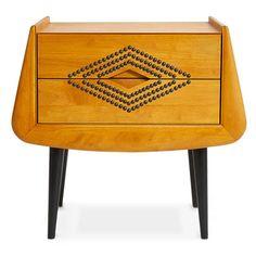 Jonathan Adler Antibes Side Table | Bedside Tables & Nightstands | Bedroom | Furniture | Candelabra, Inc.
