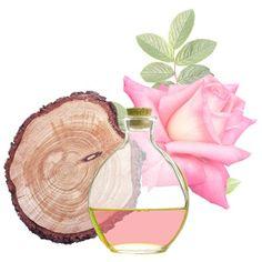 Óleo Essencial Pau de Rosa. É um excelente componente para a preparação de óleos, cremes, loções faciales e corporais. É para agregar umas gotas no banho de inmersão. (calmante, relaxante e tonificante)