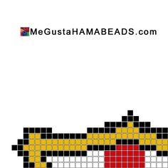 hama beads plantillas barcelona barça fcbarcelona