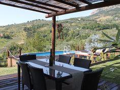 Ferienhaus Penne Bungalow, Villa, Penne, Pergola, Outdoor Structures, Patio, Outdoor Decor, Home Decor, Cottage House