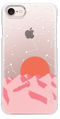 Casetify iPhone 7 Plus Case and iPhone 7 Cases. Other Las Vegas iPhone Covers - Palm Sunset by Megan Roy | Casetify