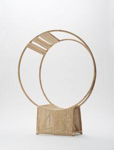 Eclipse. Rattan chair. Designer: Anne Brandhøj, www.annebrandhoej.dk, Scandinavian furniture design