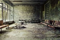 Chernobyl, Pripyat. Have always wanted to explore the less irradiated areas of this place.