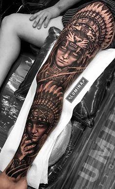 So much fun do this piece at , no edit, no effect 😊🙏 42 Tattoo, Thigh Tattoo Men, Full Leg Tattoos, Full Sleeve Tattoos, Tattoo Sleeve Designs, Tattoo Designs Men, Body Art Tattoos, Lion Tattoo Sleeves, Leg Sleeve Tattoo