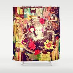 Before the Awakening Shower Curtain by LadyJennD - $68.00