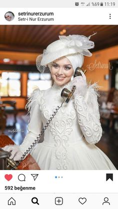 apkal te ekk r gelin ba gelinlik Muslimah Wedding Dress, Muslim Wedding Dresses, Hijab Bride, Princess Wedding Dresses, Bridal Dresses, Wedding Gowns, Bridesmaid Dresses, Bridal Hijab, Muslim Brides