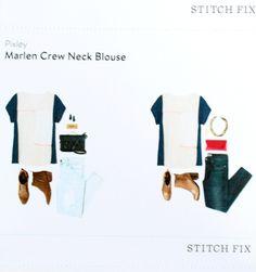 Pixley Marlen Crew Neck Blouse @stitchfix stitch fix https://www.stitchfix.com/referral/3590654