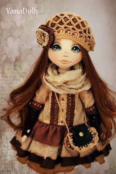 YanaDolls: октября 2013 Little Girl Toys, Toys For Girls, Little Girls, Pretty Dolls, Beautiful Dolls, Princess Zelda, Disney Princess, Doll Hair, Vintage Dolls