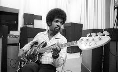 '70s bassist Larry Graham of Sly & The Family Stone, and Graham Central Station
