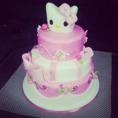Hello Kitty cake out for delivery! :)