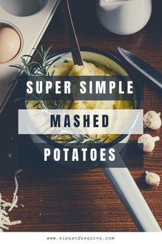 This super simple mashed potato recipe is delicious! This recipe is great for the holidays, but easy enough to add into your week night rotation. Easy Mashed Potatoes, Mashed Potato Recipes, Russet Potatoes, Super Simple, Easy Meals, Magnolia Table, Vegetarian, Stuffed Peppers, Thanksgiving