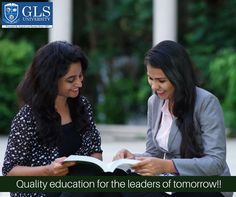 Quality education for the leaders of tomorrow!! #GLSUniversity