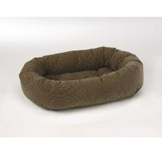 Diamond Microvelvet Donut Pet Bed - Houndstooth (Medium: 35 x 27 x 8 in.) * Click image to review more details.