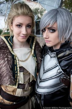 Female Dragon Age 2 Cosplay on Global Geek News.