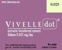 Vivelle-Dot Learn more at http://www.rxwiki.com/vivelle-dot #Vivelle-Dot #Menopause #rxwiki