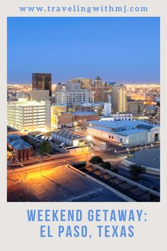 With such a rich multi-cultural heritage laid over modern-day attractions and events, visiting El Paso is worthy of an entry on your bucket list. With budget-friendly prices, welcoming businesses, and great food, it's a value luxury destination perfect for your next U.S. trip. #elpaso #texas #travelingwithmj #weekendgetaways Weekend Breaks, Weekend Trips, Weekend Getaways, Texas Travel, Travel Usa, Usa Cities, Amazing Destinations, Vacation Spots, Travel Around