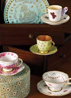 Wedgwood Harlequin Collection - I  currently obsessed with  Queen of Hearts. ❤