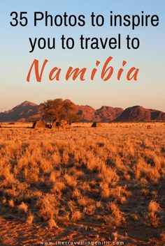35 Photos to inspire you to travel to Namibia