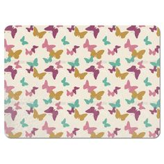 Uneekee Time of the Butterflies Vintage Placemats