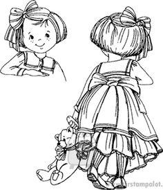 Front n Back - Annie, sirstampalot.