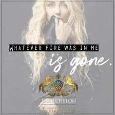 It's Teaser Tuesday and your first look into the highly anticipated final book in the Spy Girl series, THE ECHELON!!  . And, right now, I have no answers.  No answers as to how any of us are going to survive this. And no amount of scenarios is going to change that fact. Whatever fire was inside me is gone.