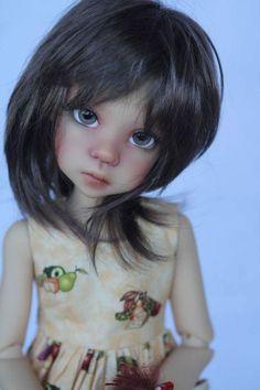 Black Freckles, Big Eyes Artist, Doll Repaint, Doll Maker, Fantasy Jewelry, Ball Jointed Dolls, Cute Dolls, Silhouette Design, Blythe Dolls