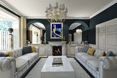 20 Best Modern Classic Images In 2015 Living Room Homes Future House