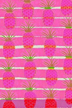Pink Pineapples | Barbara Perrine Chu