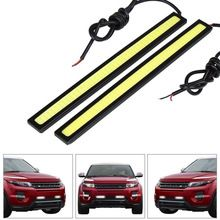 1Pcs Car styling Ultra Bright 12W LED Daytime Running lights DC 12V 17cm 100% Waterproof Auto Car DRL COB Driving Fog lamp    USD 0.77/pieceUSD 4.50/pieceUSD 3.22/lotUSD 5.60/lotUSD 0.49/pieceUSD 1.29/lotUSD 2.99/pieceUSD 0.88/piece    Specifications:    Power:12W each piece    Input Voltage:DC10V-16V    Material: Plastic and Metal    Colors: white/blue/ice blue/yellow    Color Temperature:6000K-8000K    Vehicle ...    US $0.90…